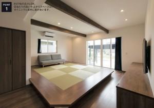 フジタ住建モデルハウス1